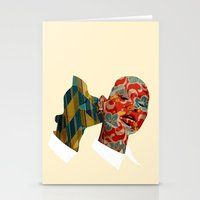 nibbling your ear Stationery Cards