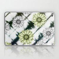 Green Daisies Smile Laptop & iPad Skin
