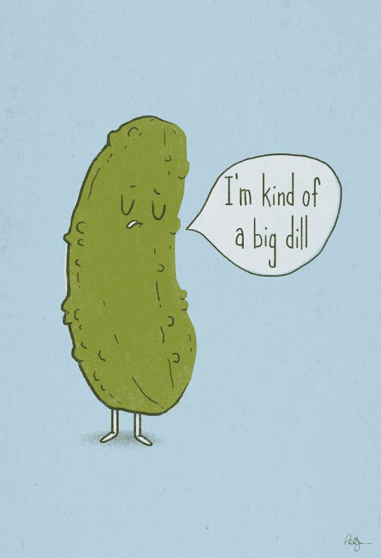 Big Dill Canvas Print