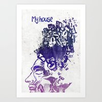 My House Art Print