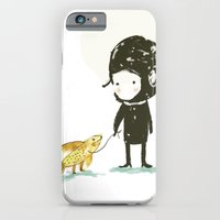 iPhone & iPod Case featuring Lester, take a walk. by Paola Zakimi