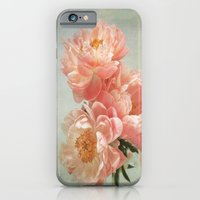 iPhone & iPod Case featuring Still life with Peonies by Lizzy Pe