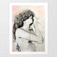 She Was Not An Impulsive… Art Print