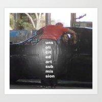 UNSOLICITED ART Art Print