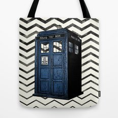 Doctor Who Tardis  Tote Bag