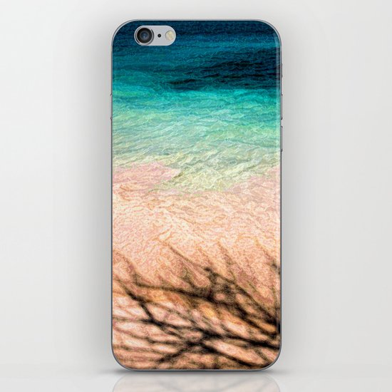 SEA AND TREE iPhone & iPod Skin