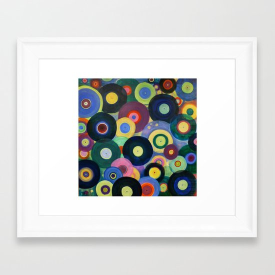 Record High Framed Art Print