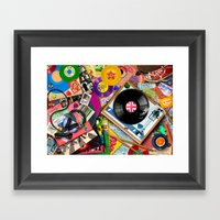 Viva Le Vinyl Framed Art Print