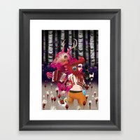 'Showtime' Framed Art Print