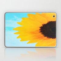 Half A SunFlower  Laptop & iPad Skin