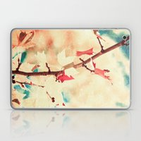 Autumn (Leafs in a textured and abstract sky) Laptop & iPad Skin