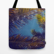 Palm Sky Tote Bag