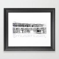 Musikhuset Esbjerg  Framed Art Print