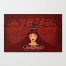 Esther Confronts Xerxes (by Lindsey McCormack Canvas Print