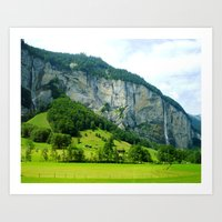 Lauterbrunnen Valley Art Print