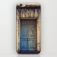 Doors are made to be Open! iPhone & iPod Skin