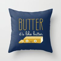 Spread The Word Throw Pillow