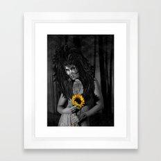 Life And Death Framed Art Print