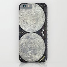 The Earth's Moon Map iPhone 6 Slim Case