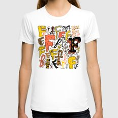 F's Womens Fitted Tee White SMALL