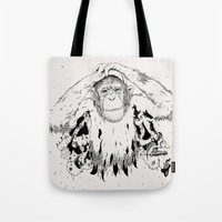 In The Shadow Of Man Tote Bag