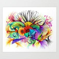 Love Ink Art Print