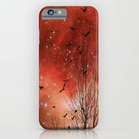 iPhone & iPod Case featuring Red Night by The Strange Days Of Gothicolors