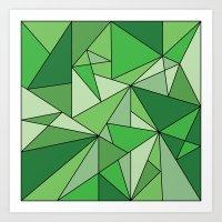 Greenup Art Print