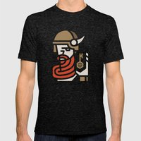 Keymaster Games Mens Fitted Tee Tri-Black SMALL