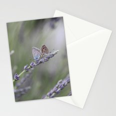 Lavender Butterflies - JUSTART © Stationery Cards