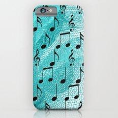 Music notes Slim Case iPhone 6s