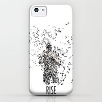 iPhone 5c Cases featuring Bane by justjeff