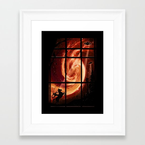 The Encounter Framed Art Print