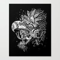 Eagle Warrior Canvas Print
