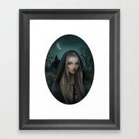 Witch Child Framed Art Print