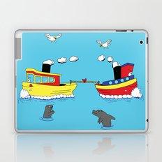 TUG BOAT OF WAR Laptop & iPad Skin