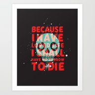 Art Print featuring Oh Dang, Death Is All Co… by Joshua Agerstrand