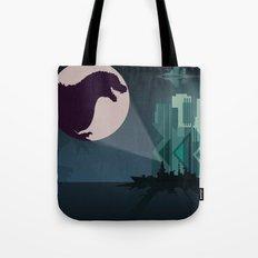 Payback Time  2014 godzilla  Tote Bag