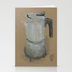 Moka Pot -  These Are Th… Stationery Cards