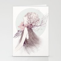 Faceless Series #1 Stationery Cards