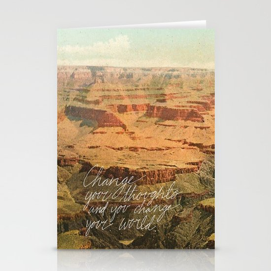 Change Stationery Card
