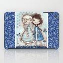 When I Am Blue - by Diane Duda iPad Case
