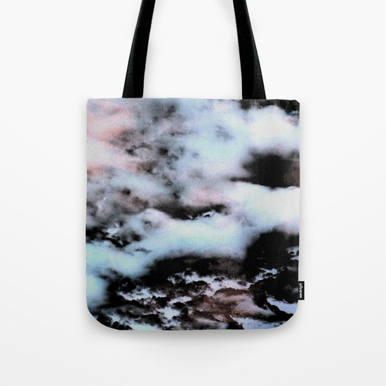 Ice and Smoke Tote Bag