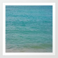 Maui: Aqua Art Print