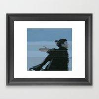 Grimes (Claire Boucher) Framed Art Print