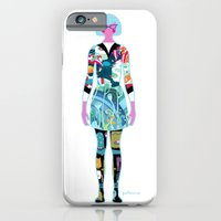 iPhone & iPod Case featuring Self Portrait by Piktorama