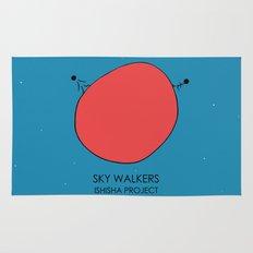 SKY WALKERS by ISHISHA PROJECT Rug