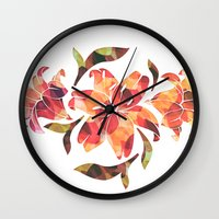 Lilium 02 Wall Clock