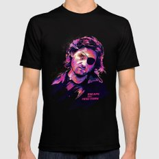 Kurt Russell: BAD ACTORS SMALL Mens Fitted Tee Black