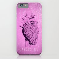 iPhone & iPod Case featuring savour life ! by mauro mondin